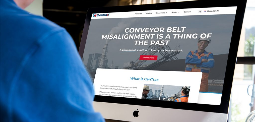 CenTrax has launched a new, target group oriented website 1